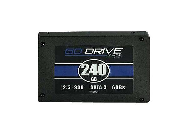test VisionTek GoDrive Series 240 GB - SATA 6Gb/s