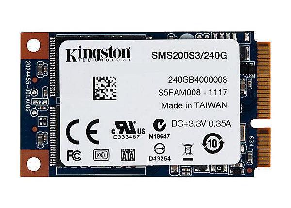test Kingston SSDNow mS200 240 GB - SATA 6Gb/s