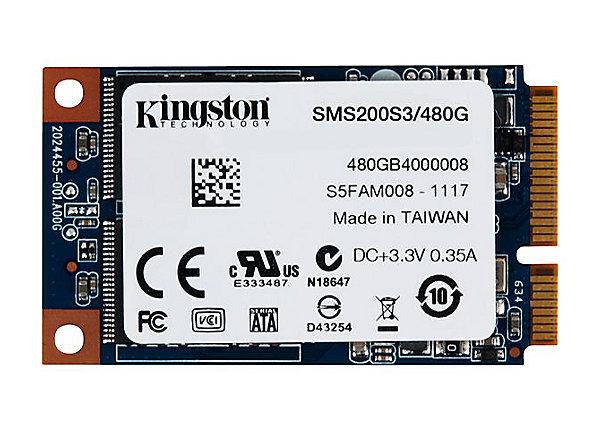 test Kingston SSDNow mS200 480 GB - SATA 6Gb/s