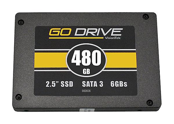 test VisionTek GoDrive Series 480 GB - SATA 6Gb/s