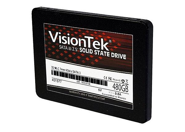 test VisionTek 480 GB - SATA 6Gb/s