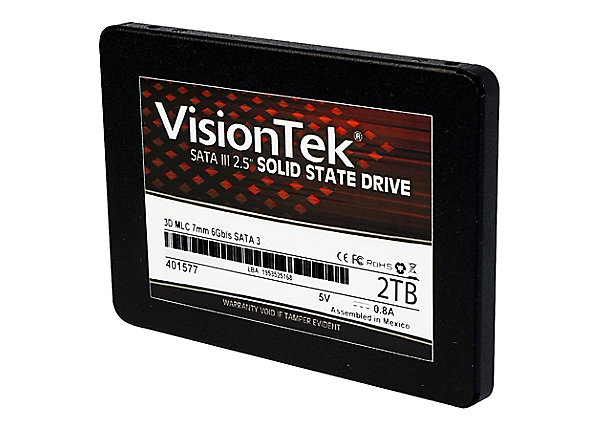 test VisionTek 2 TB - SATA 6Gb/s