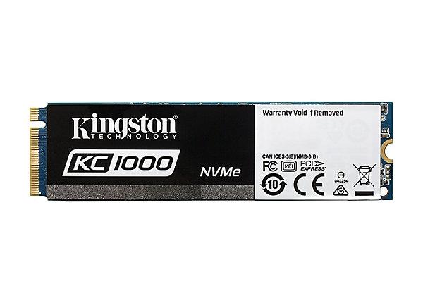 test Kingston SKC1000 480 GB - PCI Express 3.0 x4 (NVMe)