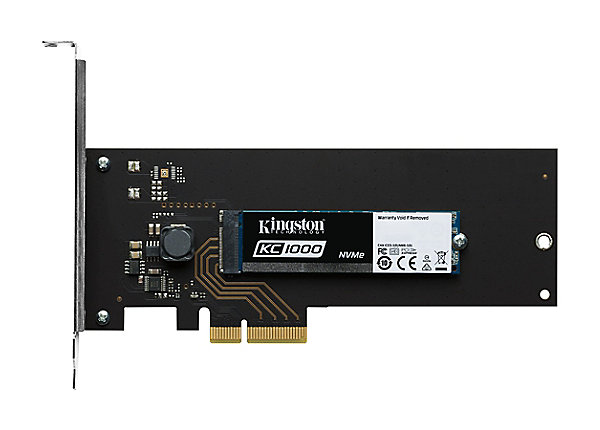 test Kingston SKC1000 960 GB - PCI Express 3.0 x4 (NVMe)