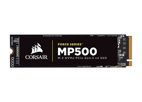 test CORSAIR Force Series MP500 240 GB - PCI Express 3.0 x