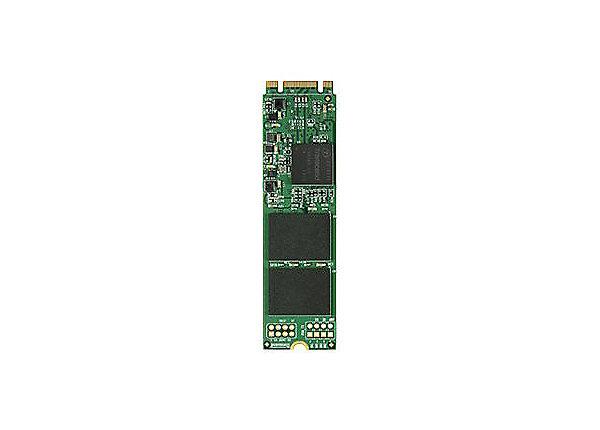 test Transcend MTS800 256 GB - SATA 6Gb/s