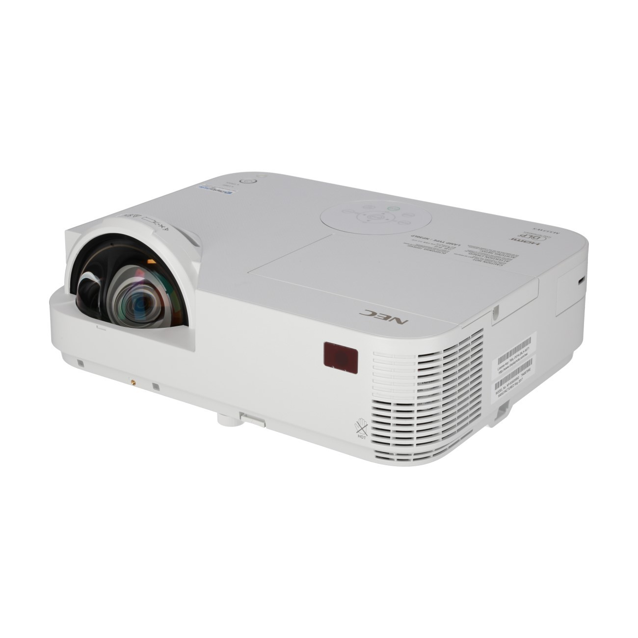 test NEC M353WS