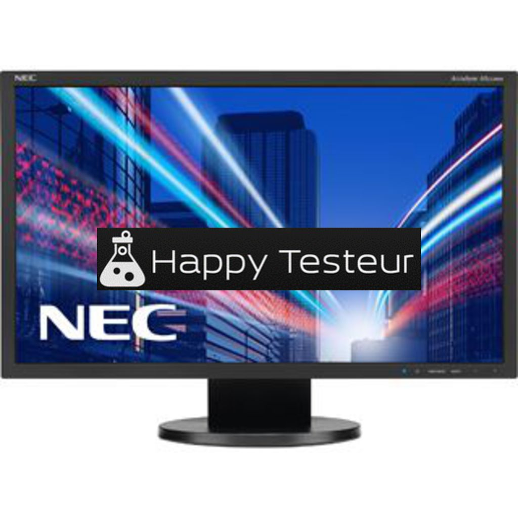 test NEC AccuSync AS222WM