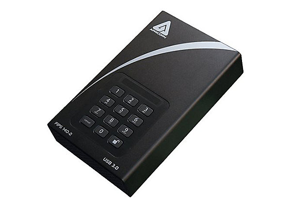 test Apricorn Aegis Padlock DT ADT-3PL256F-10TB - 10 TB - USB 3.0