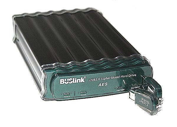test BUSlink CipherShield Encryption External Drive CSE-4T-SU3 - 4
