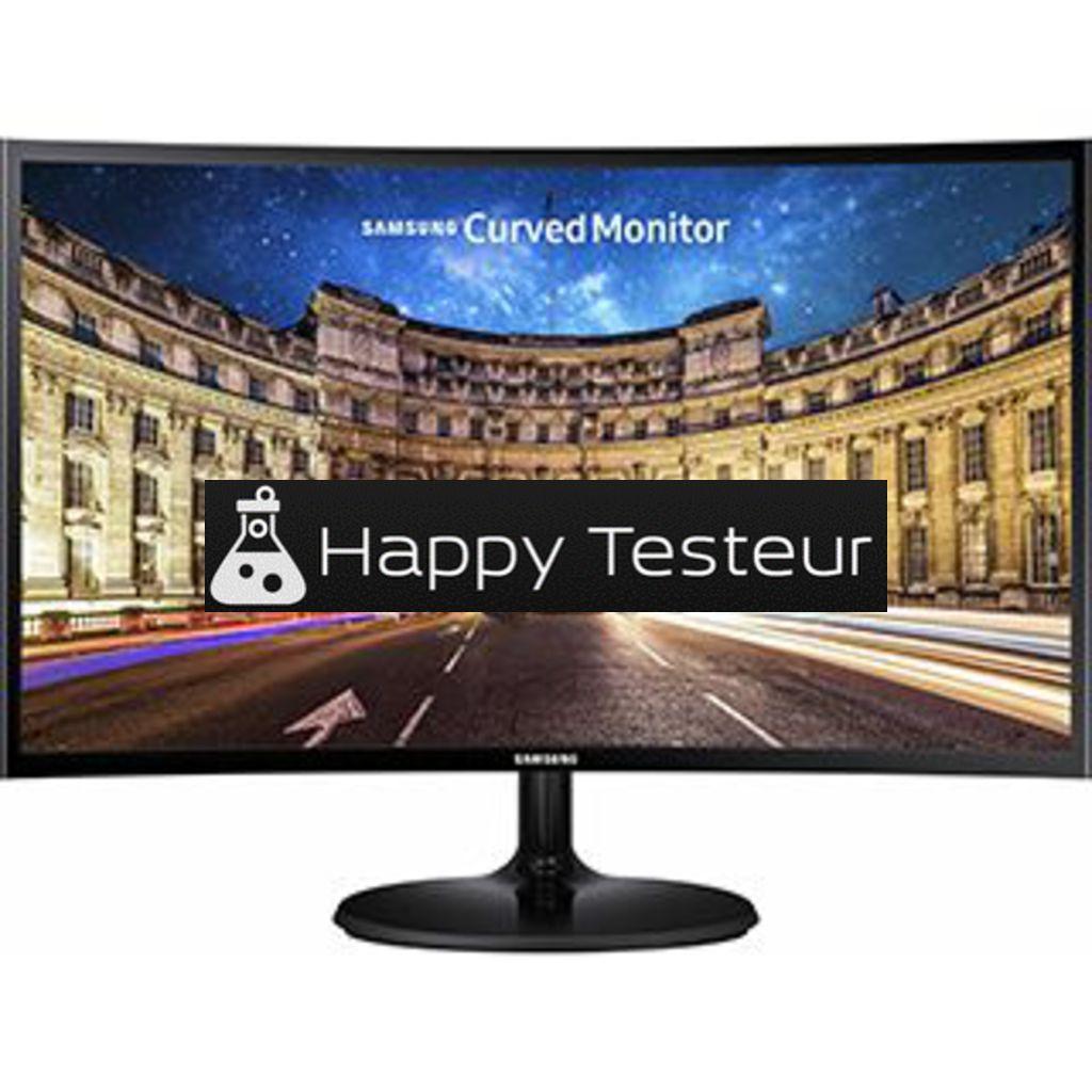test Samsung C27F390FH