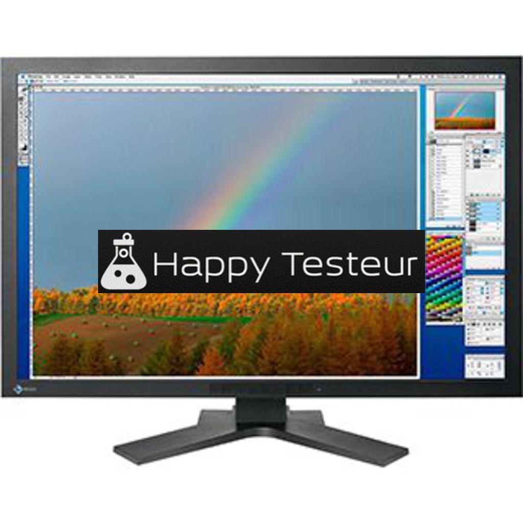 test EIZO ColorEdge CG301W