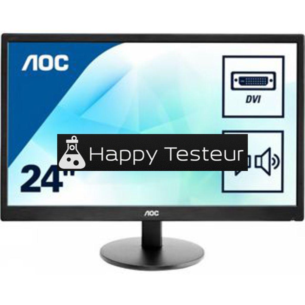 test AOC E2475SWJ