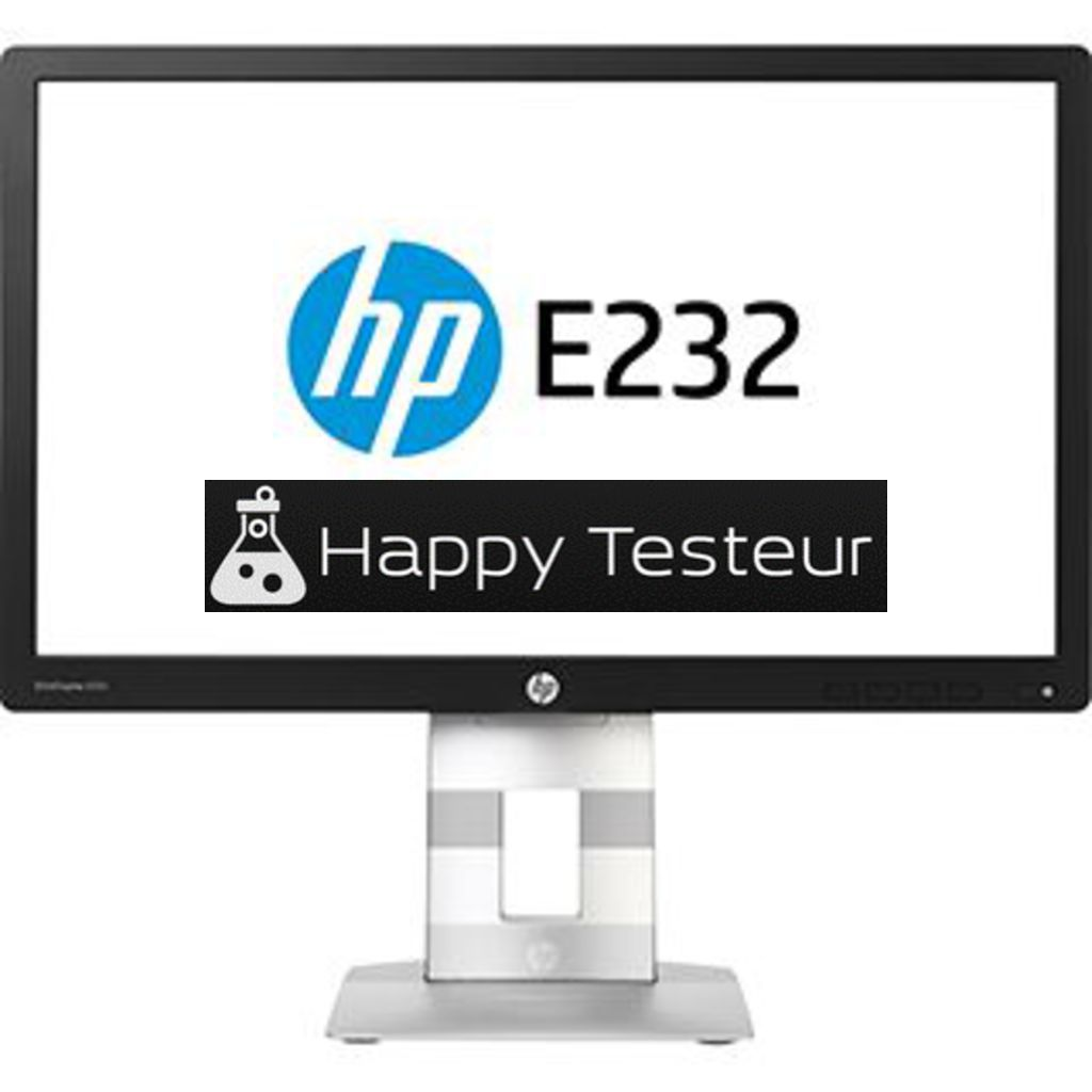 test HP EliteDisplay E232