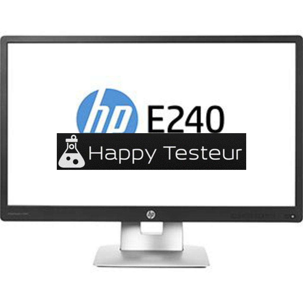 test HP EliteDisplay E240