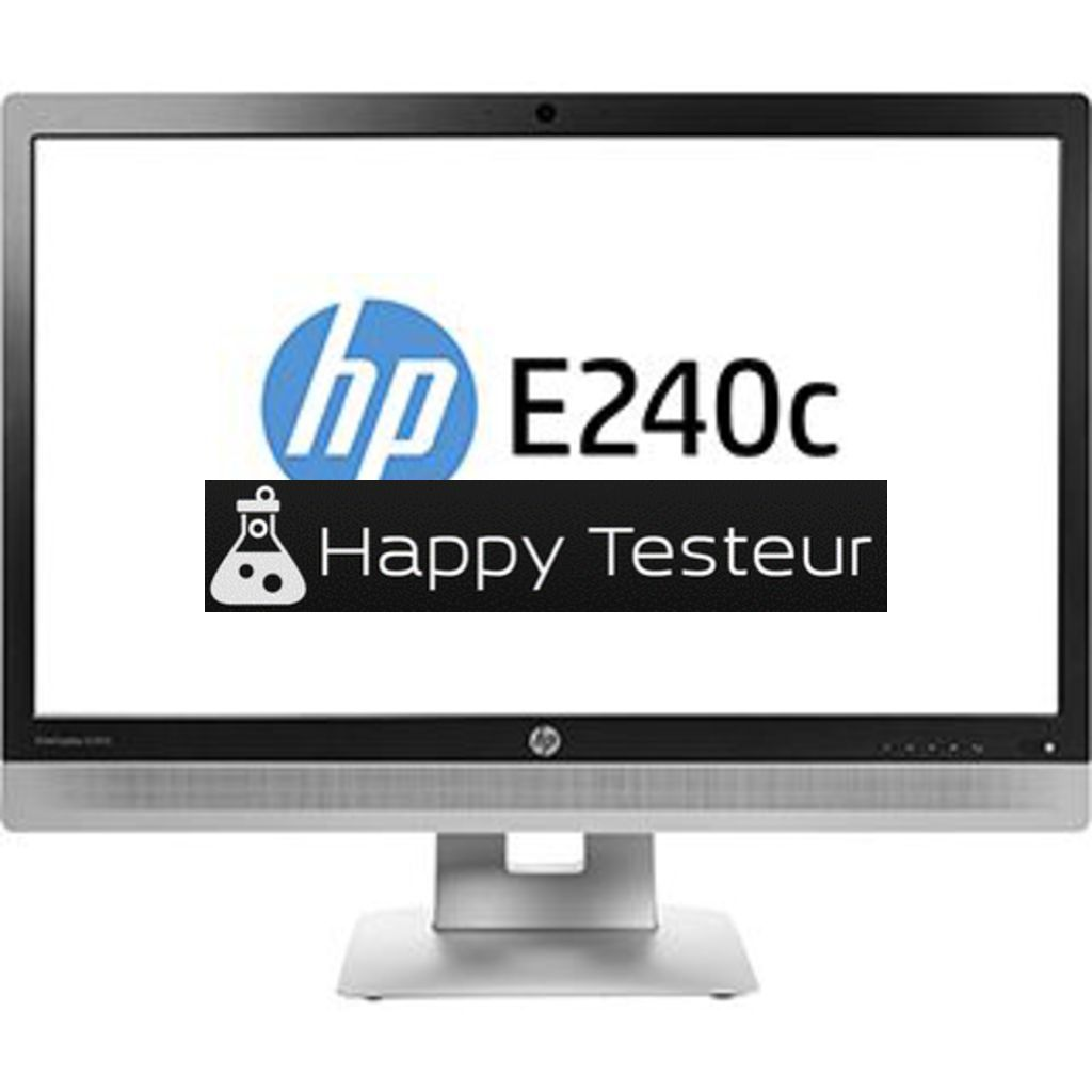 test HP EliteDisplay E240c