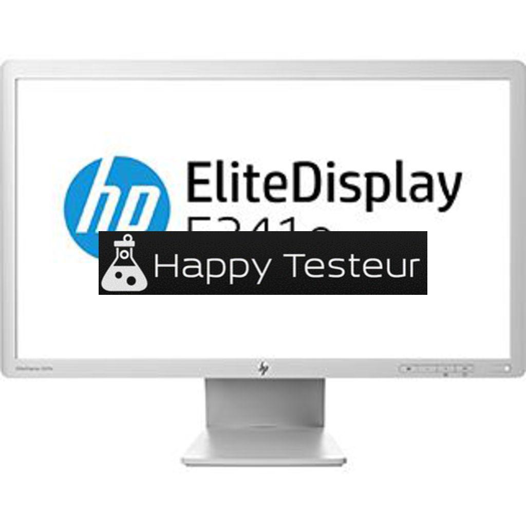 test HP EliteDisplay E241e