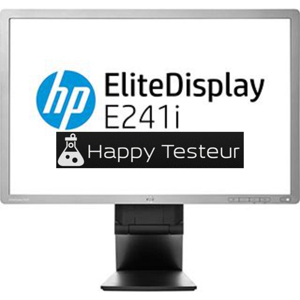 test HP EliteDisplay E241i