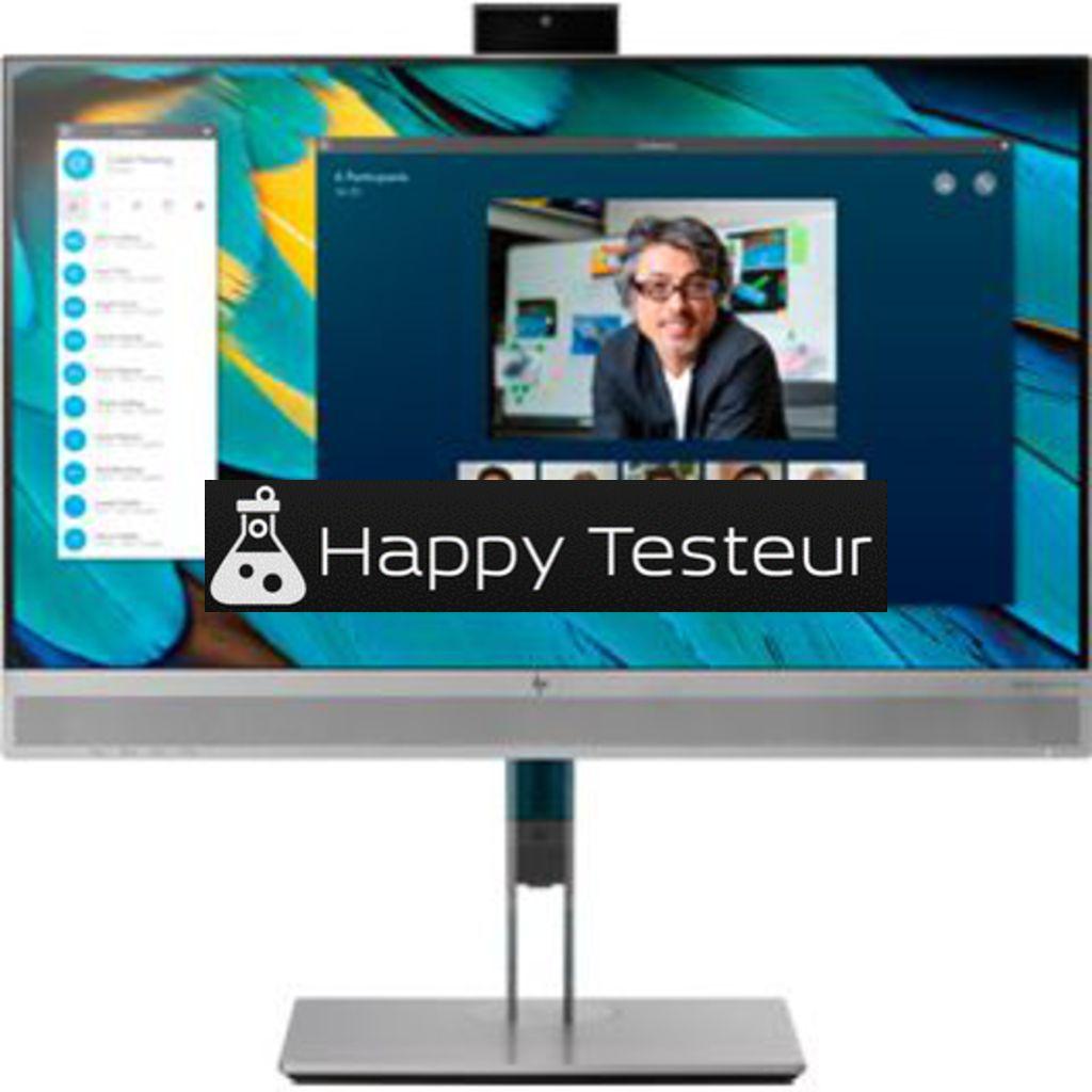 test HP EliteDisplay E243m