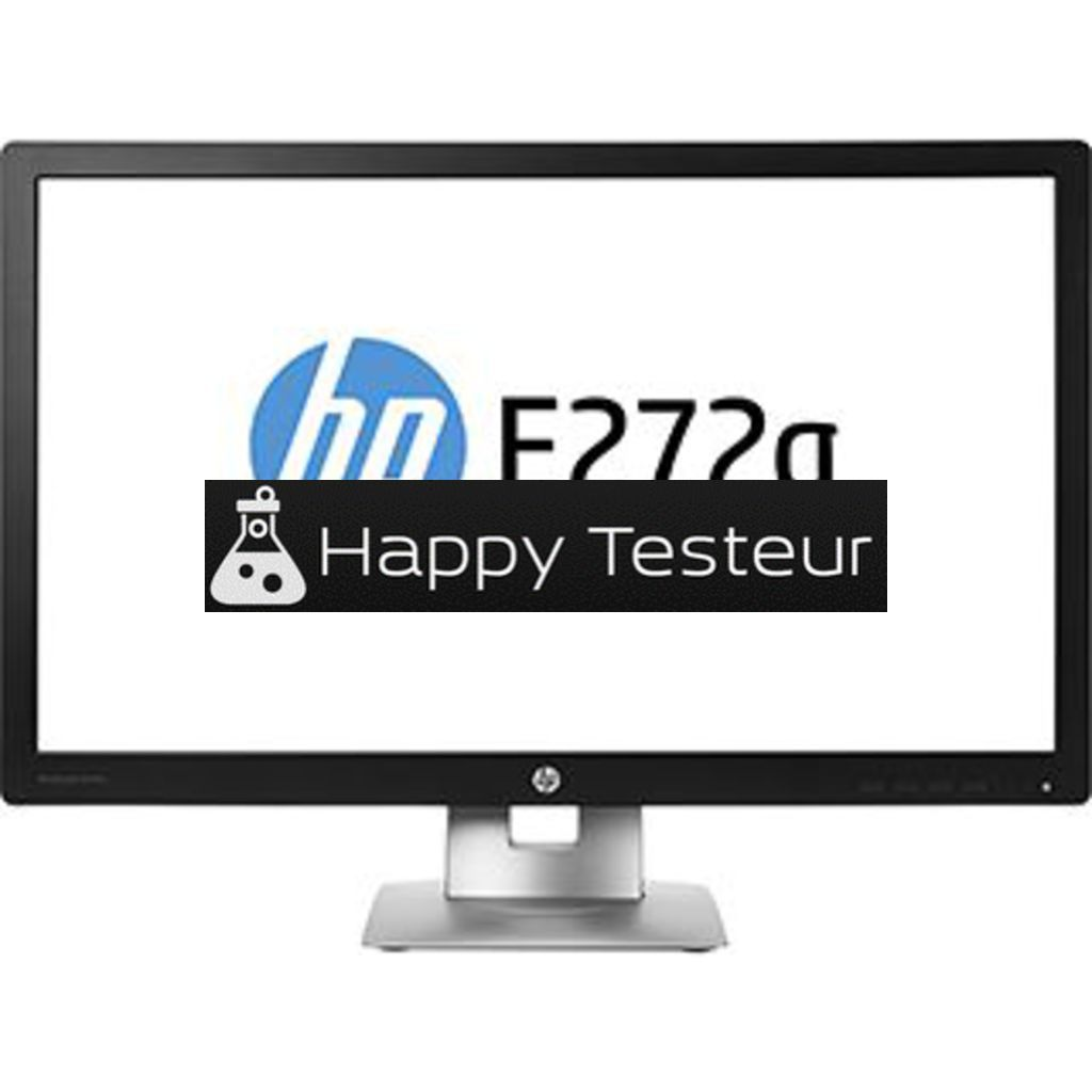 test HP EliteDisplay E272q