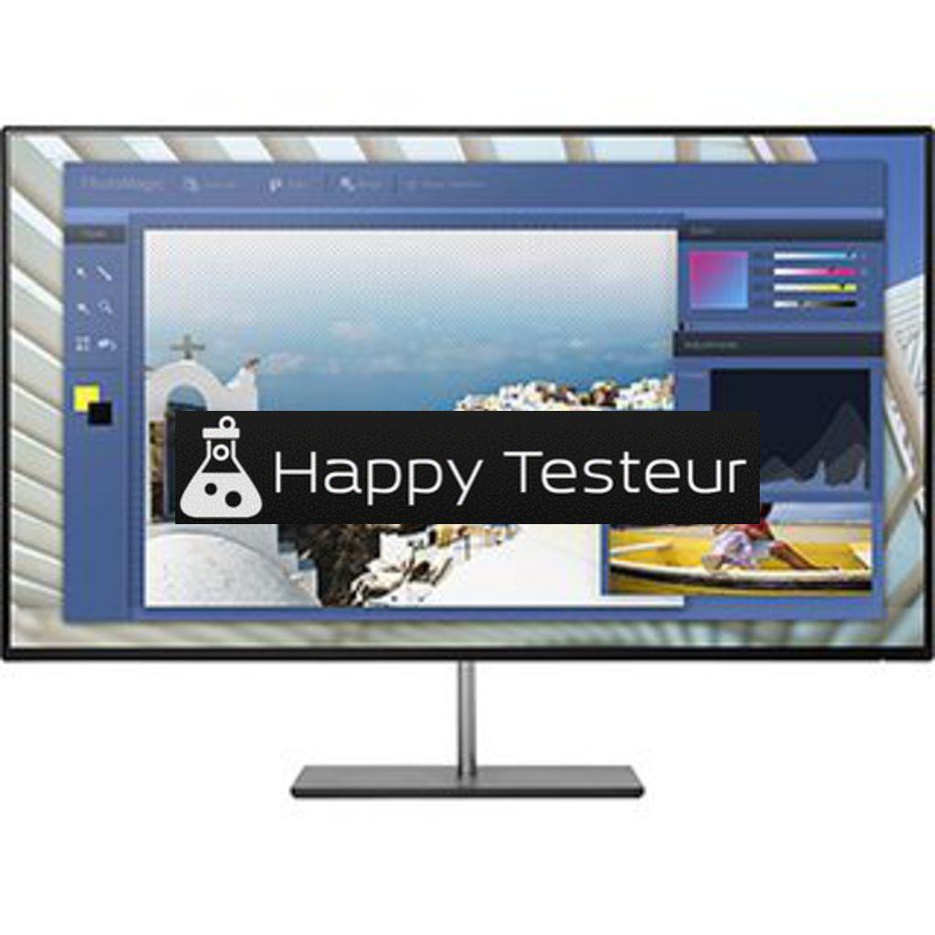 test HP EliteDisplay S240n