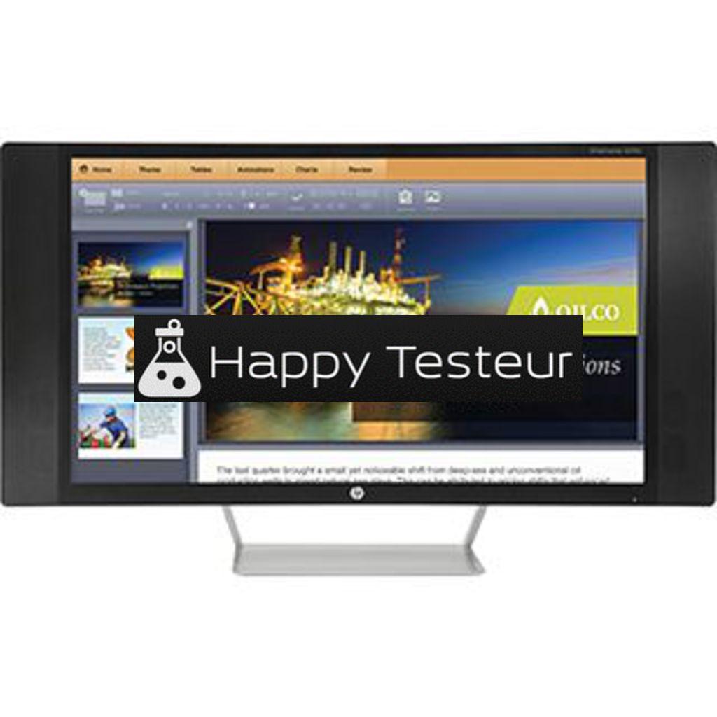 test HP EliteDisplay S270c