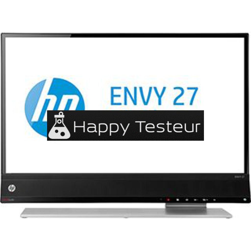 test HP Envy 27