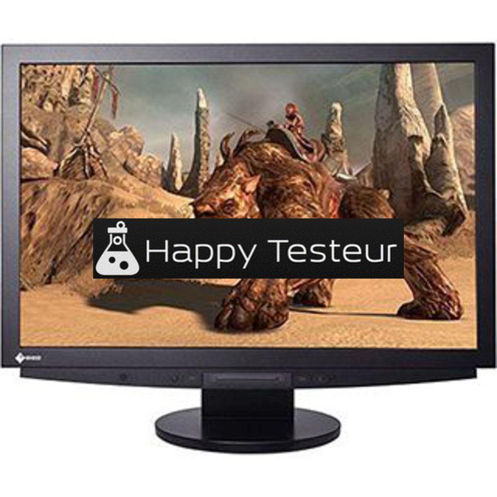 test EIZO FlexScan HD2442W