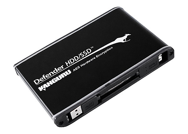 test Kanguru Defender HDD Hardware Encrypted - 500 GB - USB 3.0