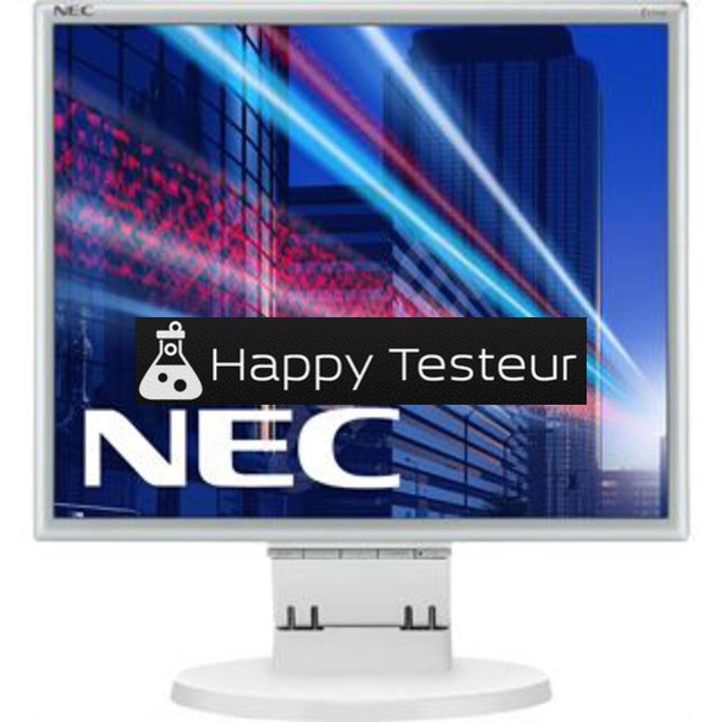 test NEC MultiSync E171M