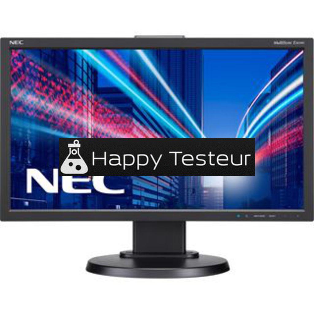 test NEC MultiSync E203Wi
