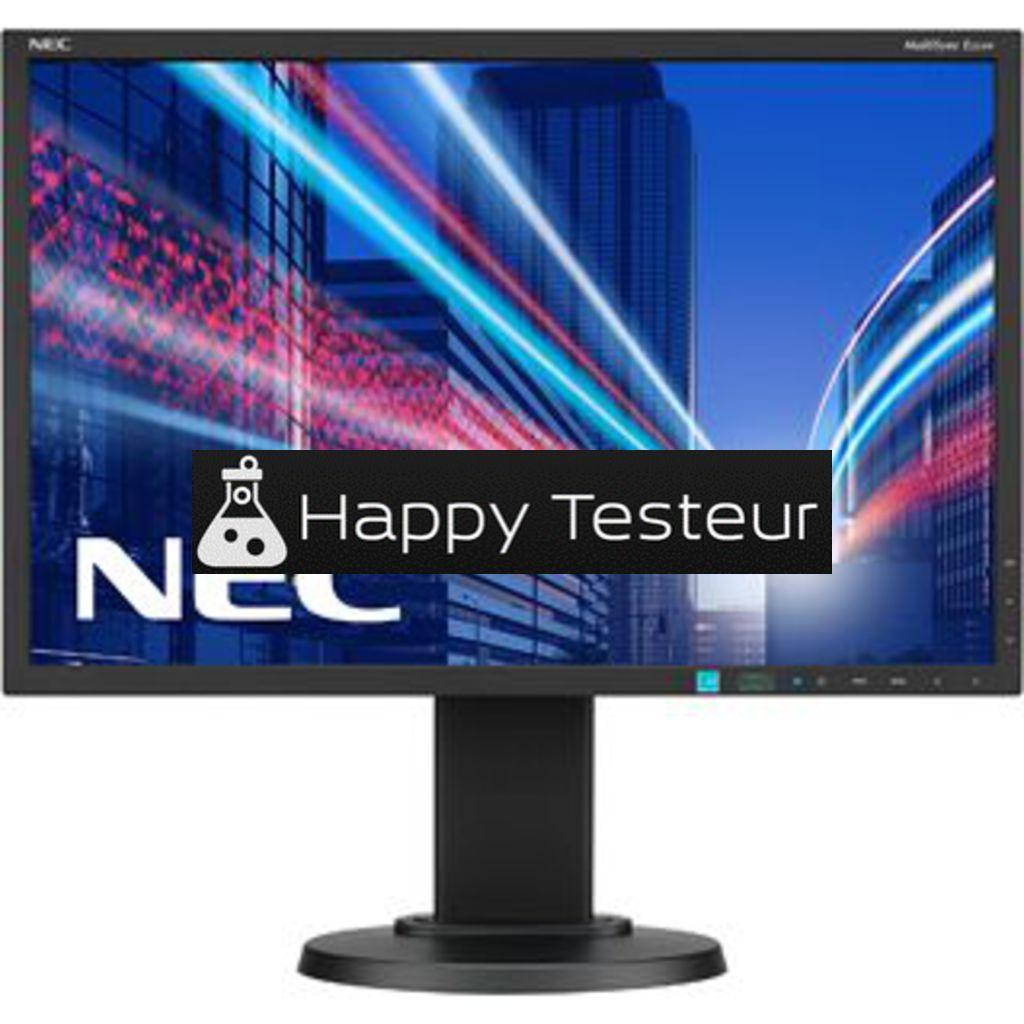 test NEC MultiSync E223W