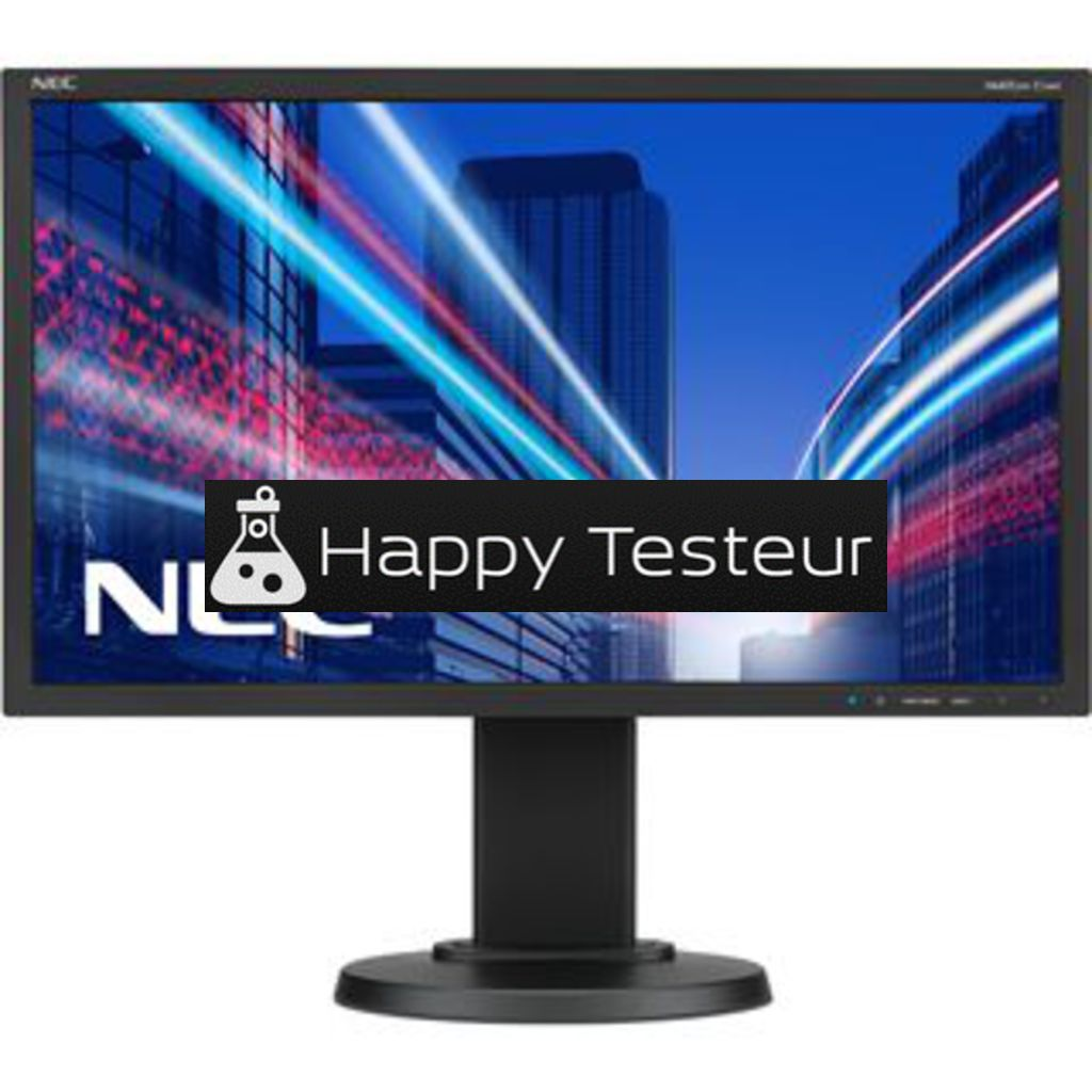test NEC MultiSync E224Wi