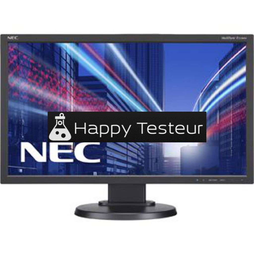 test NEC MultiSync E233WM