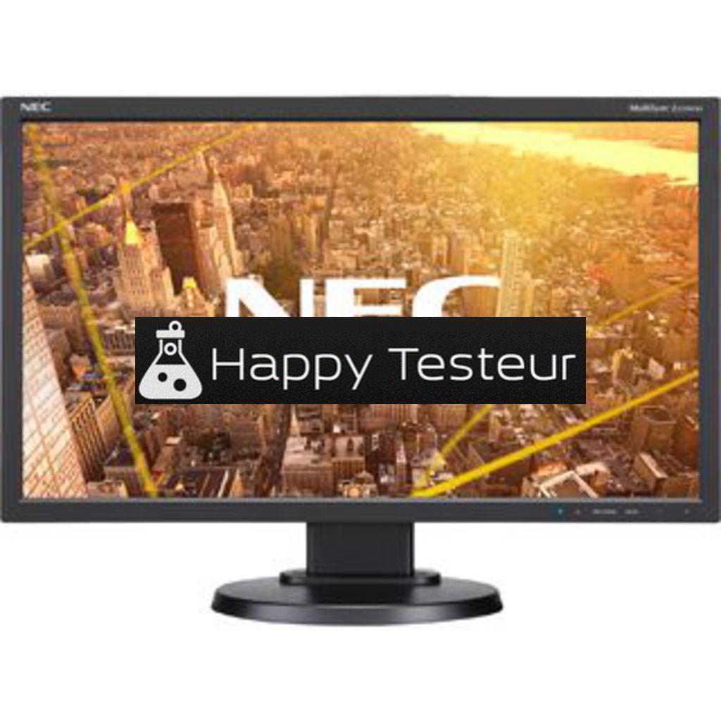 test NEC MultiSync E233WMi