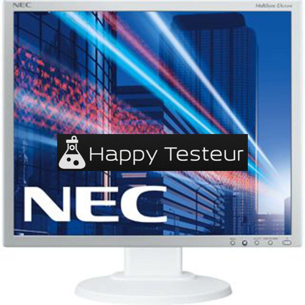 test NEC MultiSync EA193Mi