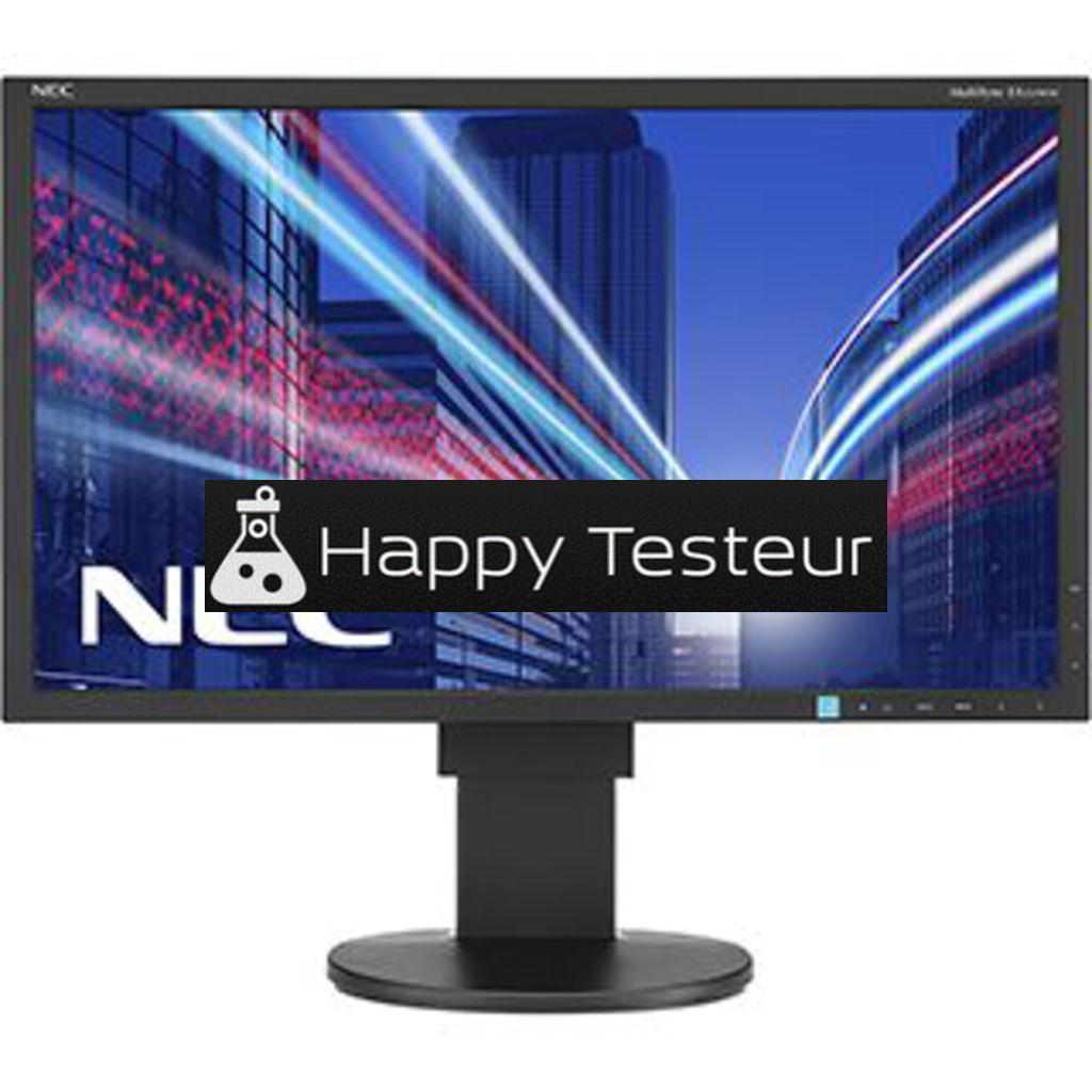 test NEC MultiSync EA234WMi