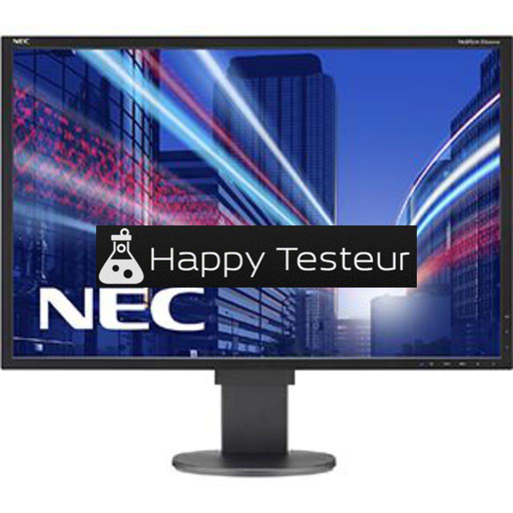 test NEC MultiSync EA304WMi-BK-SV