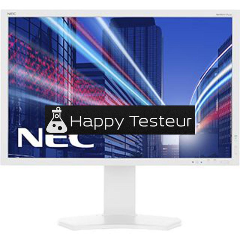test NEC MultiSync P242W