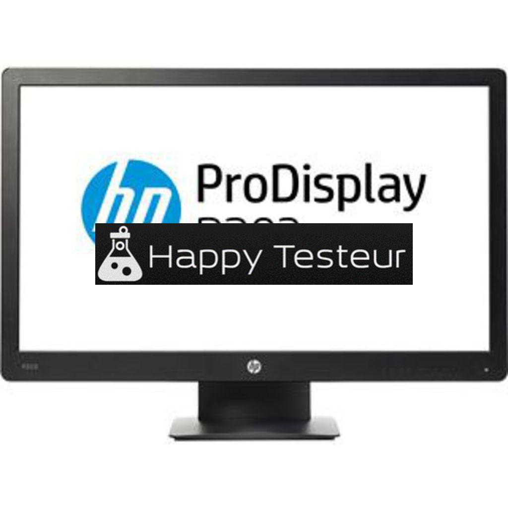 test HP ProDisplay P203