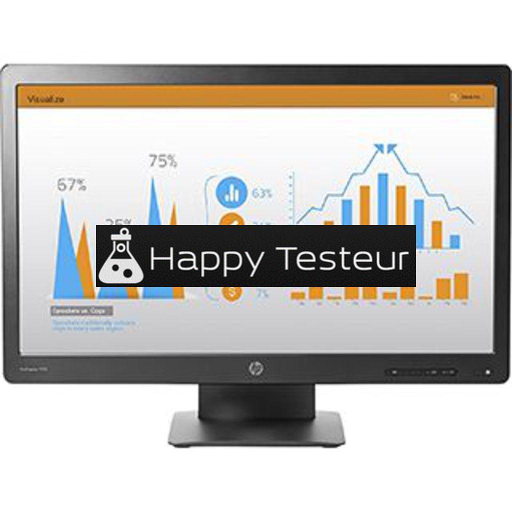 test HP ProDisplay P232