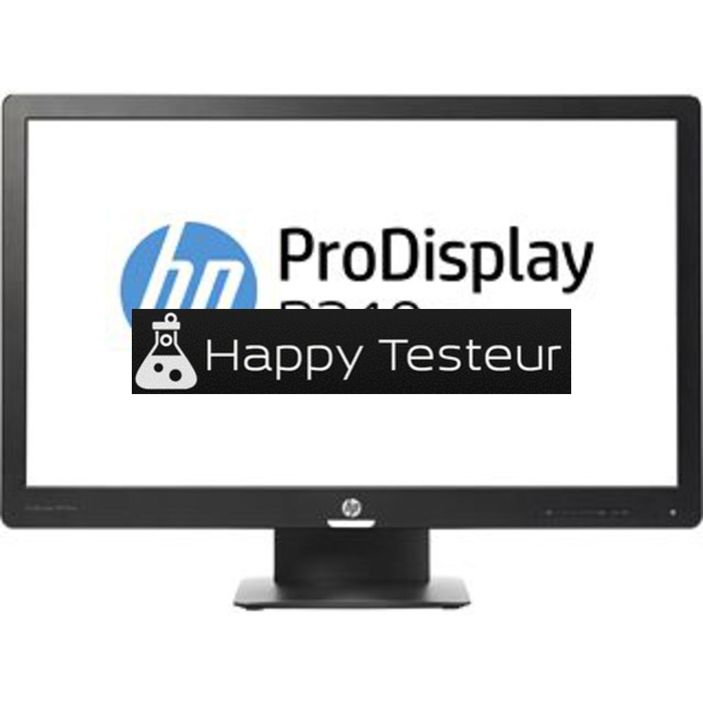 test HP ProDisplay P240va