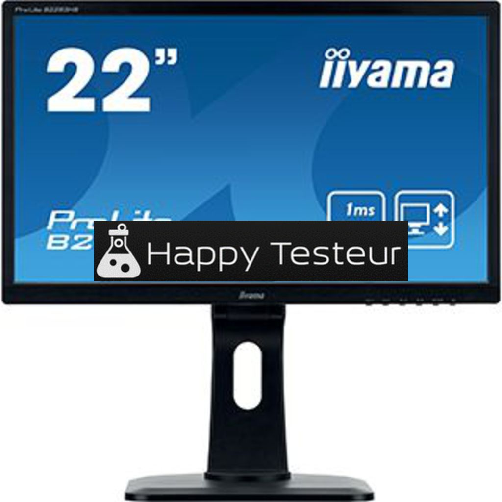 test Iiyama ProLite B2283HS-B3
