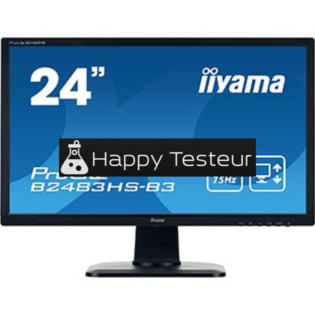 test Iiyama ProLite B2483HS-B3