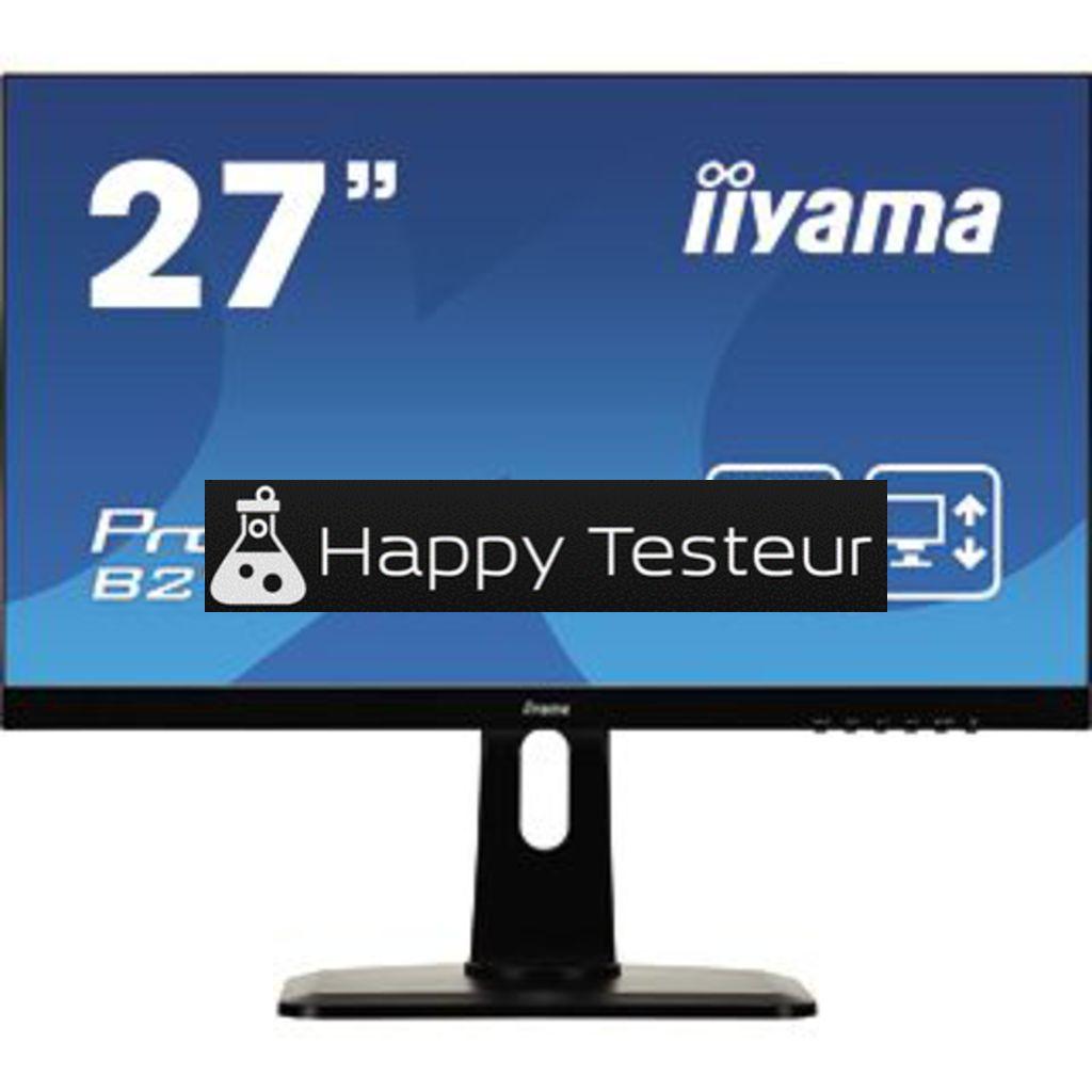 test Iiyama ProLite B2791HSU