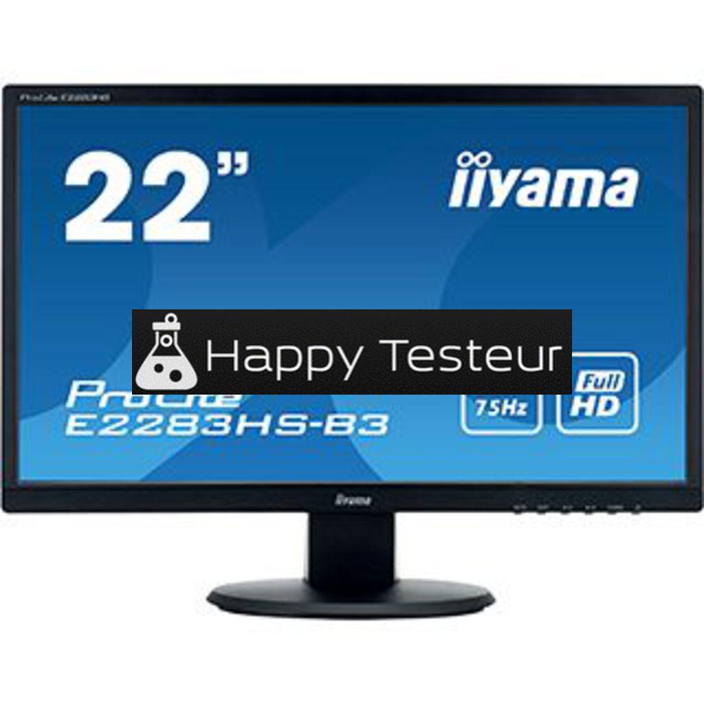 test Iiyama ProLite E2283HS-B3