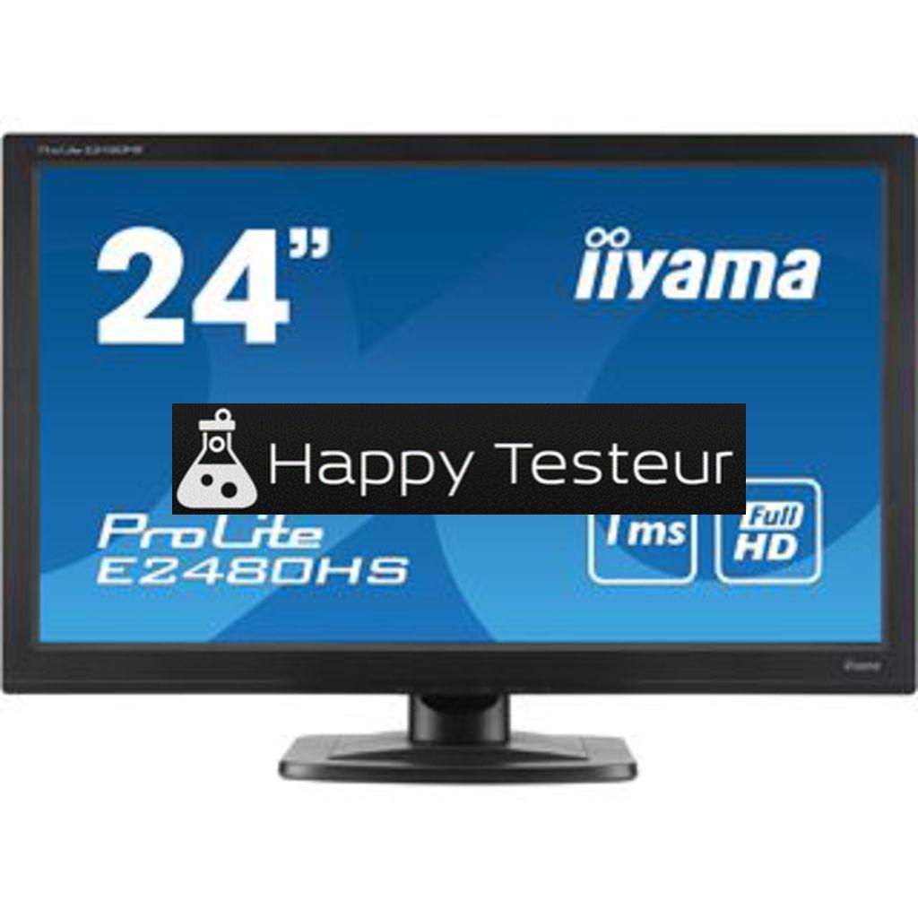 test Iiyama ProLite E2480HS-B2