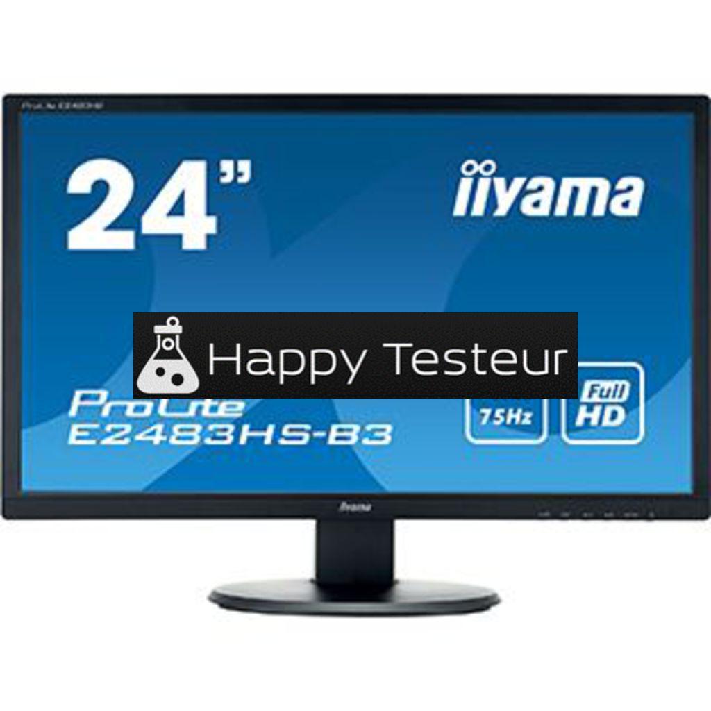 test Iiyama ProLite E2483HS-B3
