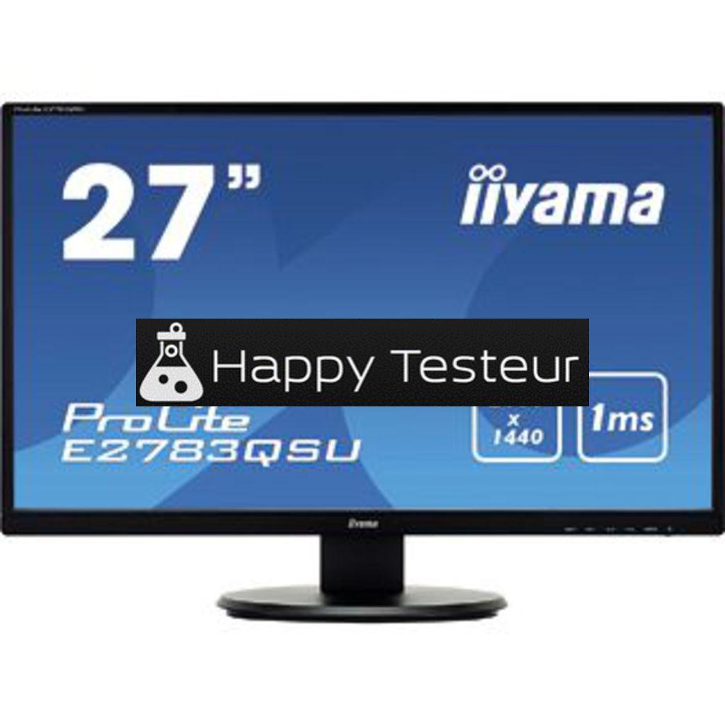 test Iiyama ProLite E2783QSU