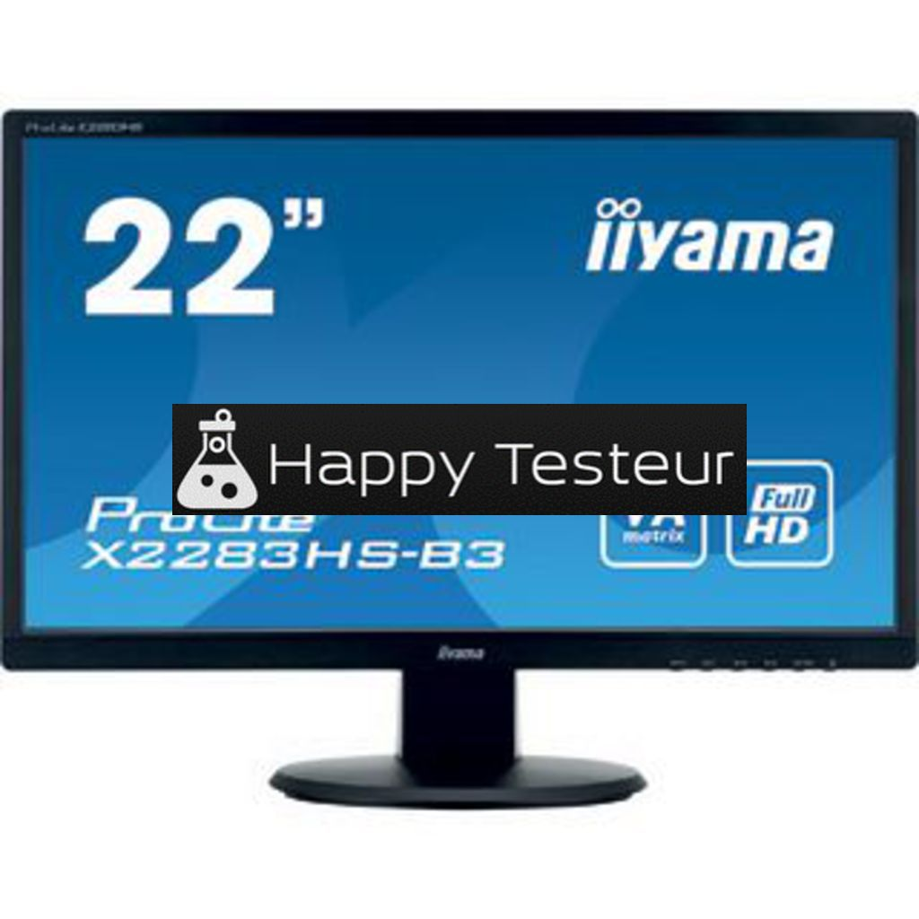 test Iiyama ProLite X2283HS-B3